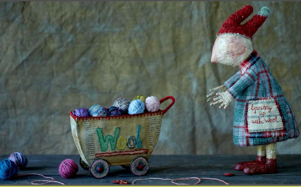 Julie Arkell- Growing Up with Wool. Loop, London - By Kristin Perers