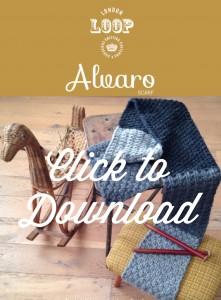Alvaro Scarf Pattern Download - Free pattern from Loop, London www.loopknitlounge.com