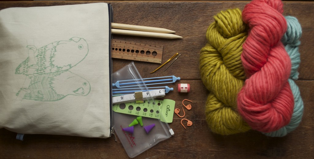 Gift Ideas for Beginner Knitters at Loop, London. www.loopknitlounge.com