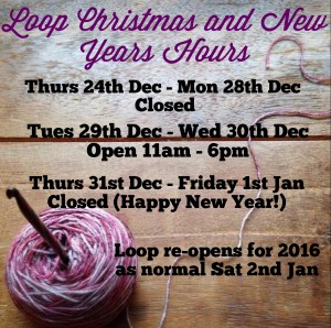 Loop Christmas and New Years Dates
