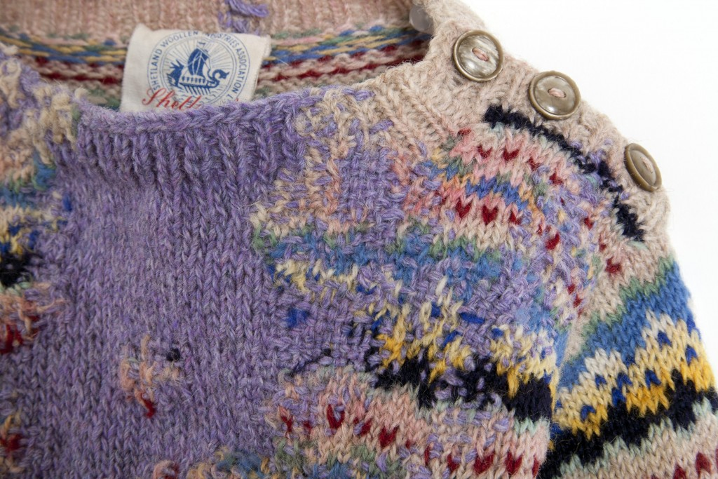 Hope's sweater, 1951 (detail)