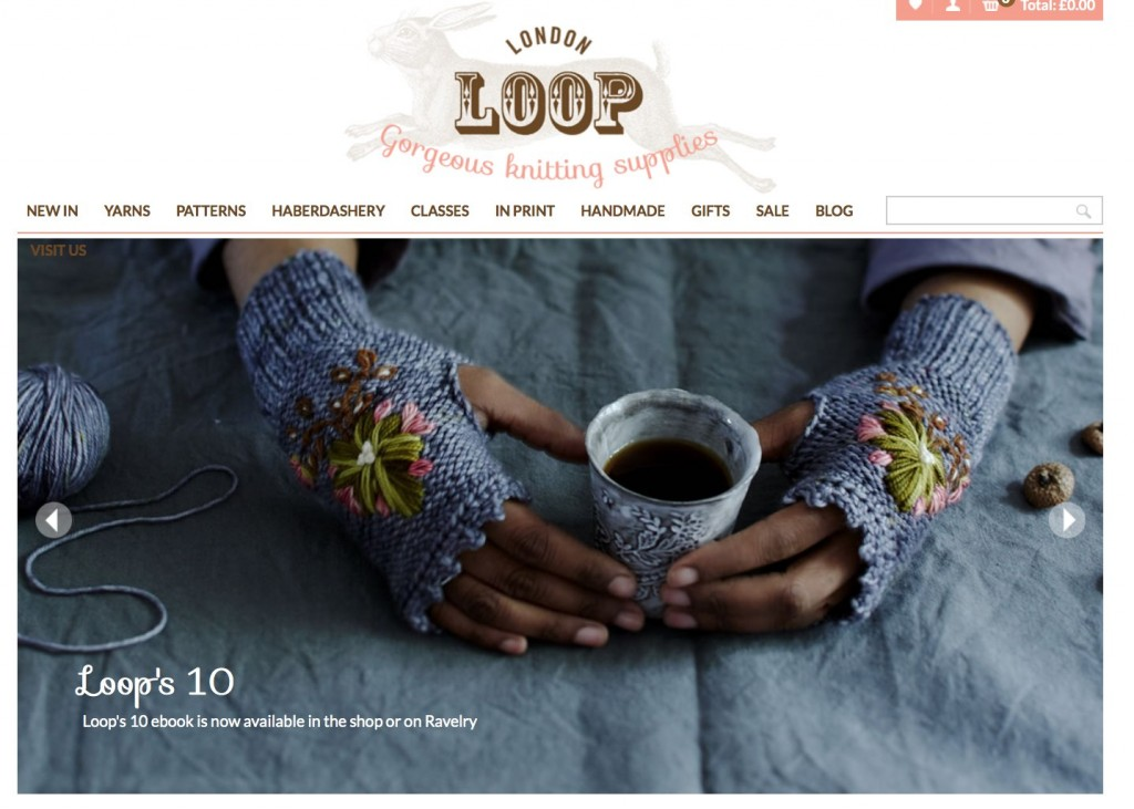 Loop's New Website - Home page