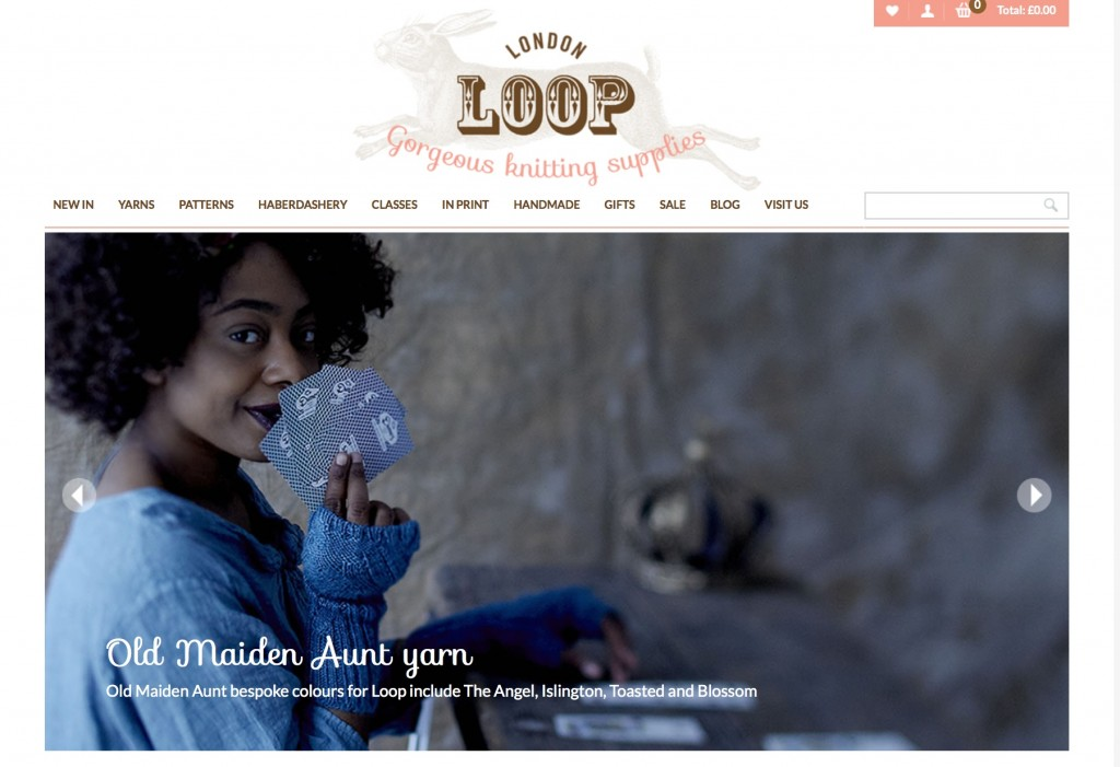 Screen Shot Slider on Loop Home Page