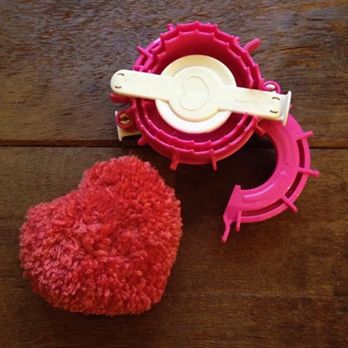 Heart Pom Pom Maker. Loop, London www.loopknitting.com