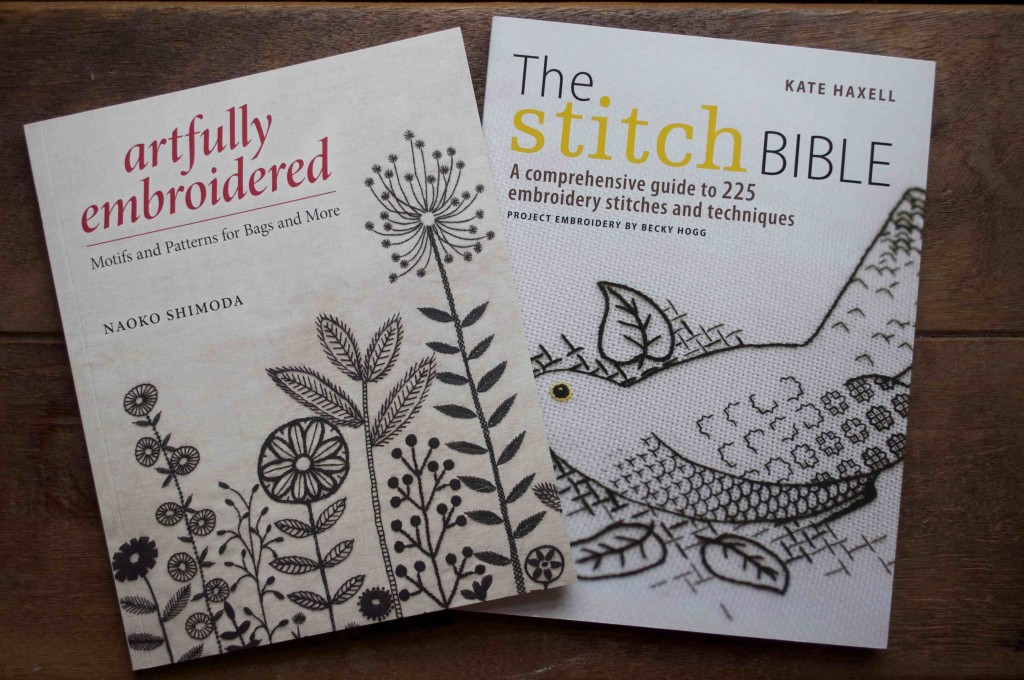 Artfully Embroidered and The Stitch Bible at Loop, London