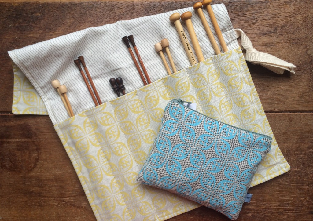 Miesje Chafer Needle Roll and Haberdashery Case at Loop, London