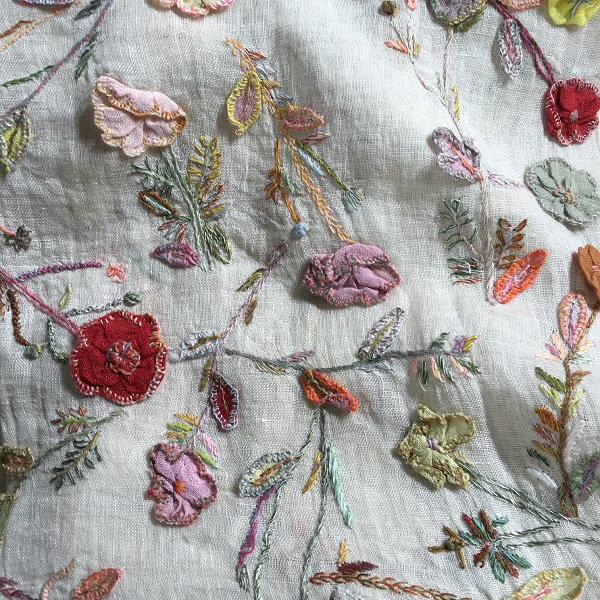 Sophie Digard Embroidered Scarves. Loop, London