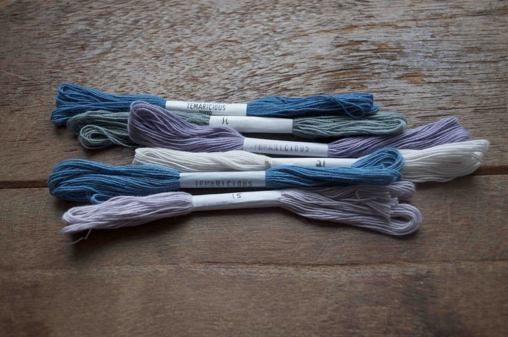 Temaricious Hand Dyed Cotton Threads