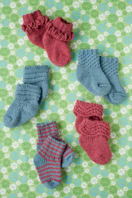 Quince & Co. More Better Baby Socks