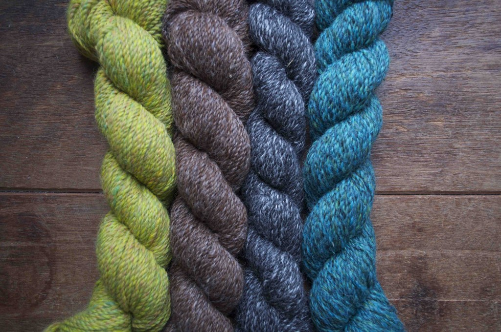 Loop Alpaca Tweed. Hotel of Bees, Captain Linnaeus Tripe, Anselm's Aeroplane, Green for Ondine