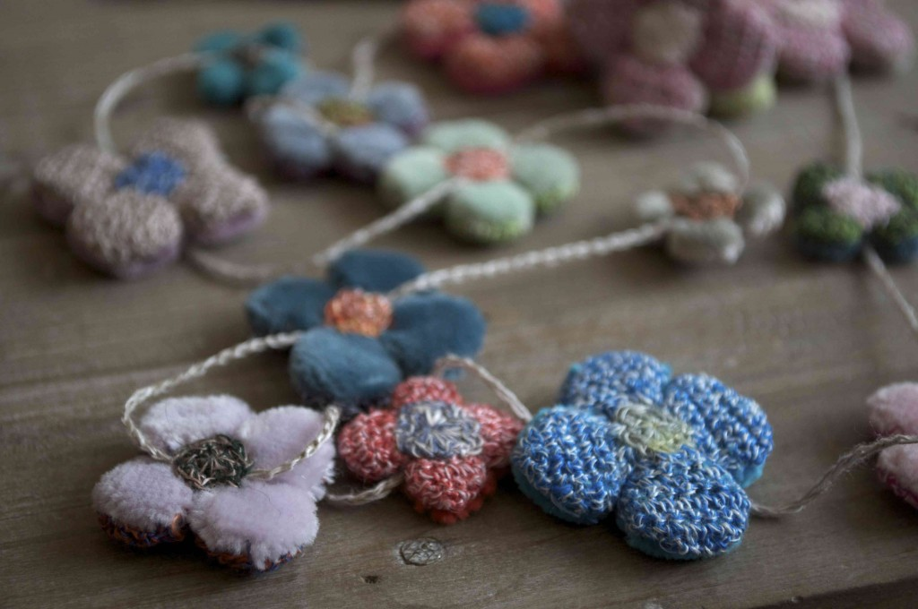 Sophie Digard Necklaces 'Fleur Four Petals'. Loop, London