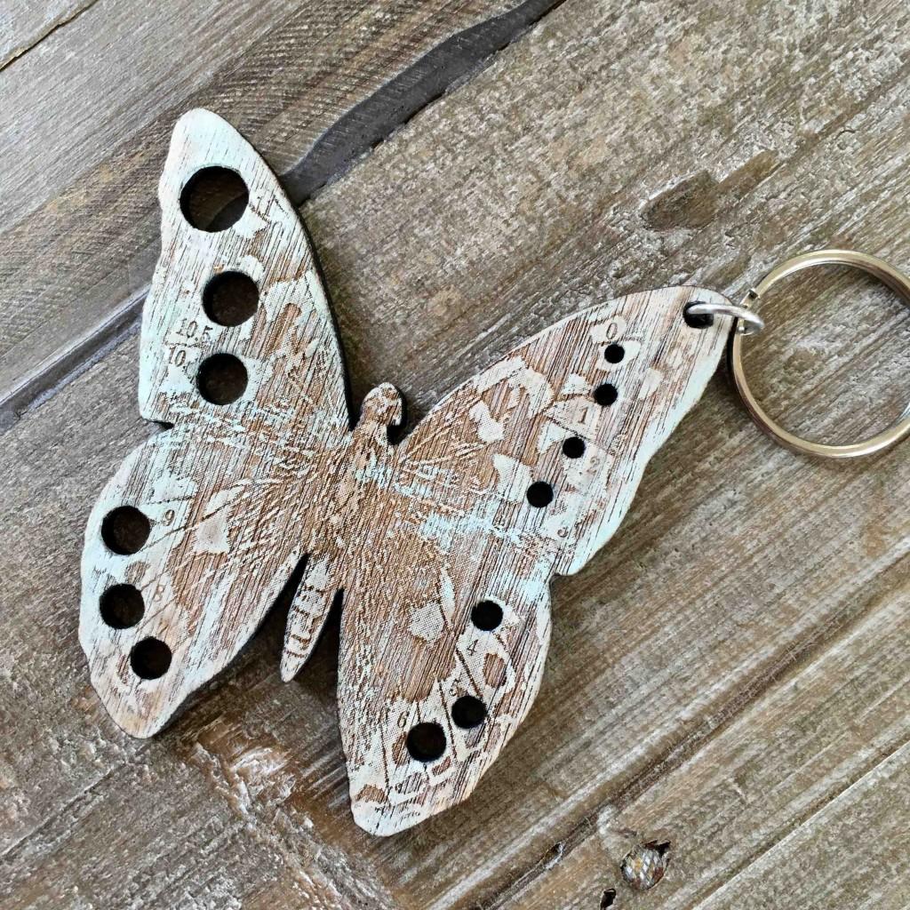 Handmade Butterfly Gauge