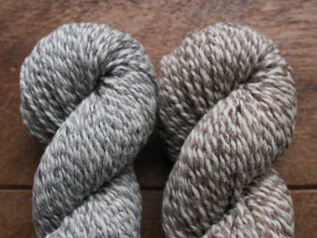 Shelter Marls in Narwhal and Caribou from Brooklyn Tweed at Loop London