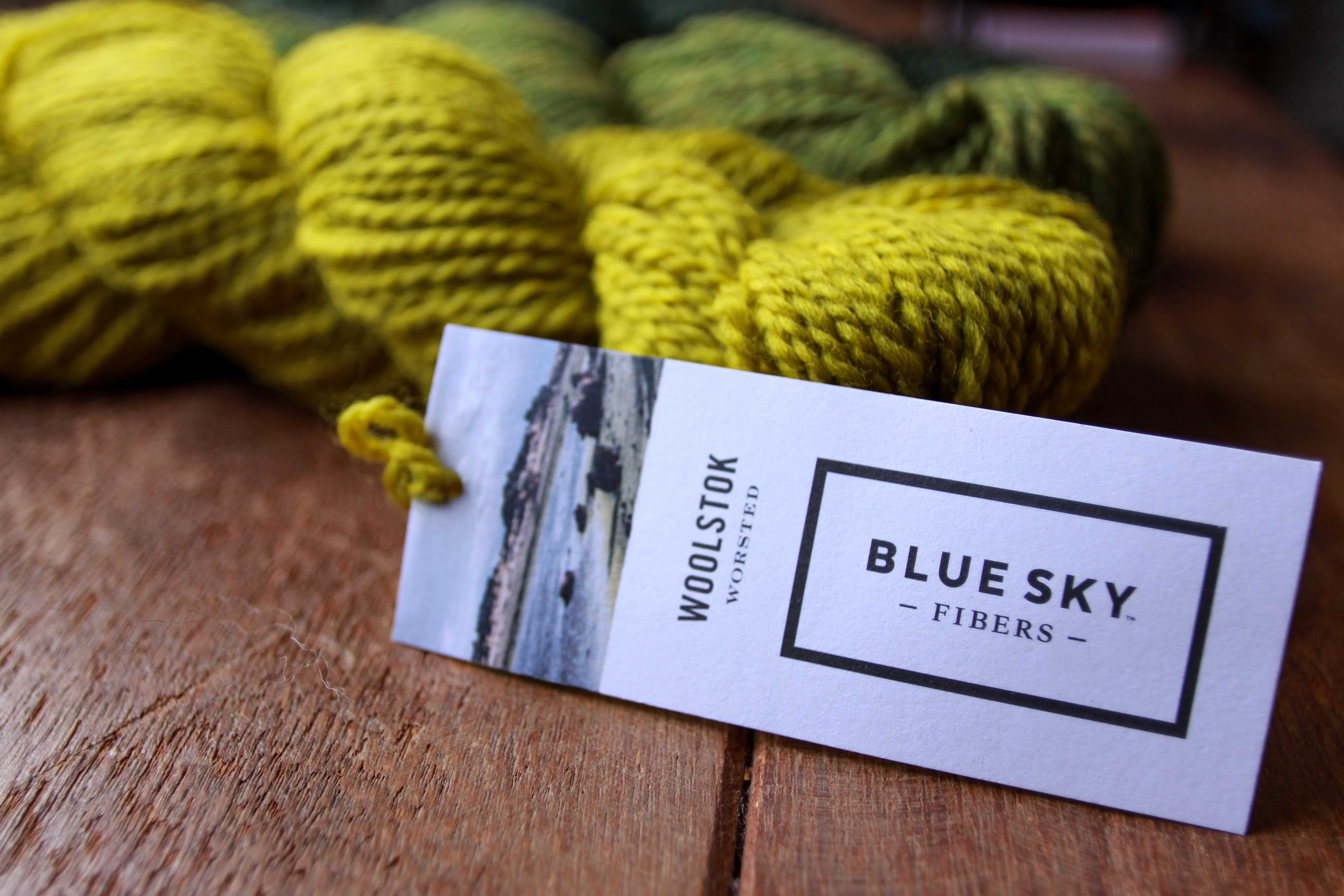 Introducing Woolstok by Blue Sky Fibres!