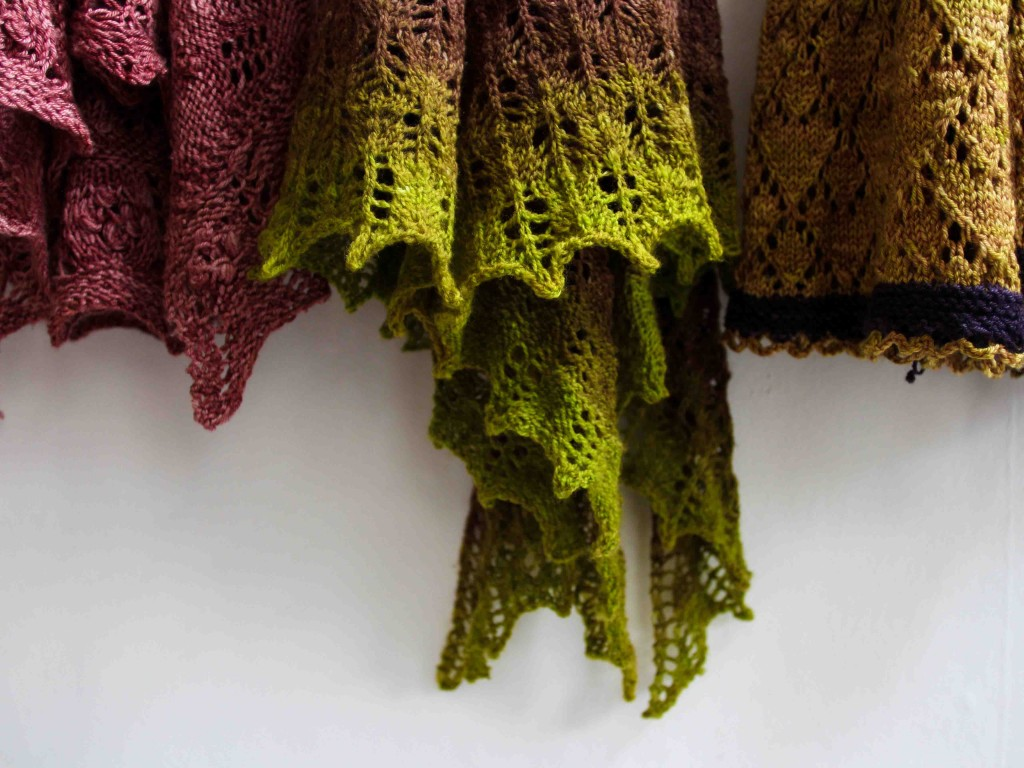 Want to master the wonders of lace knitting? Get yourself a space in our  Introduction to Lace class!
