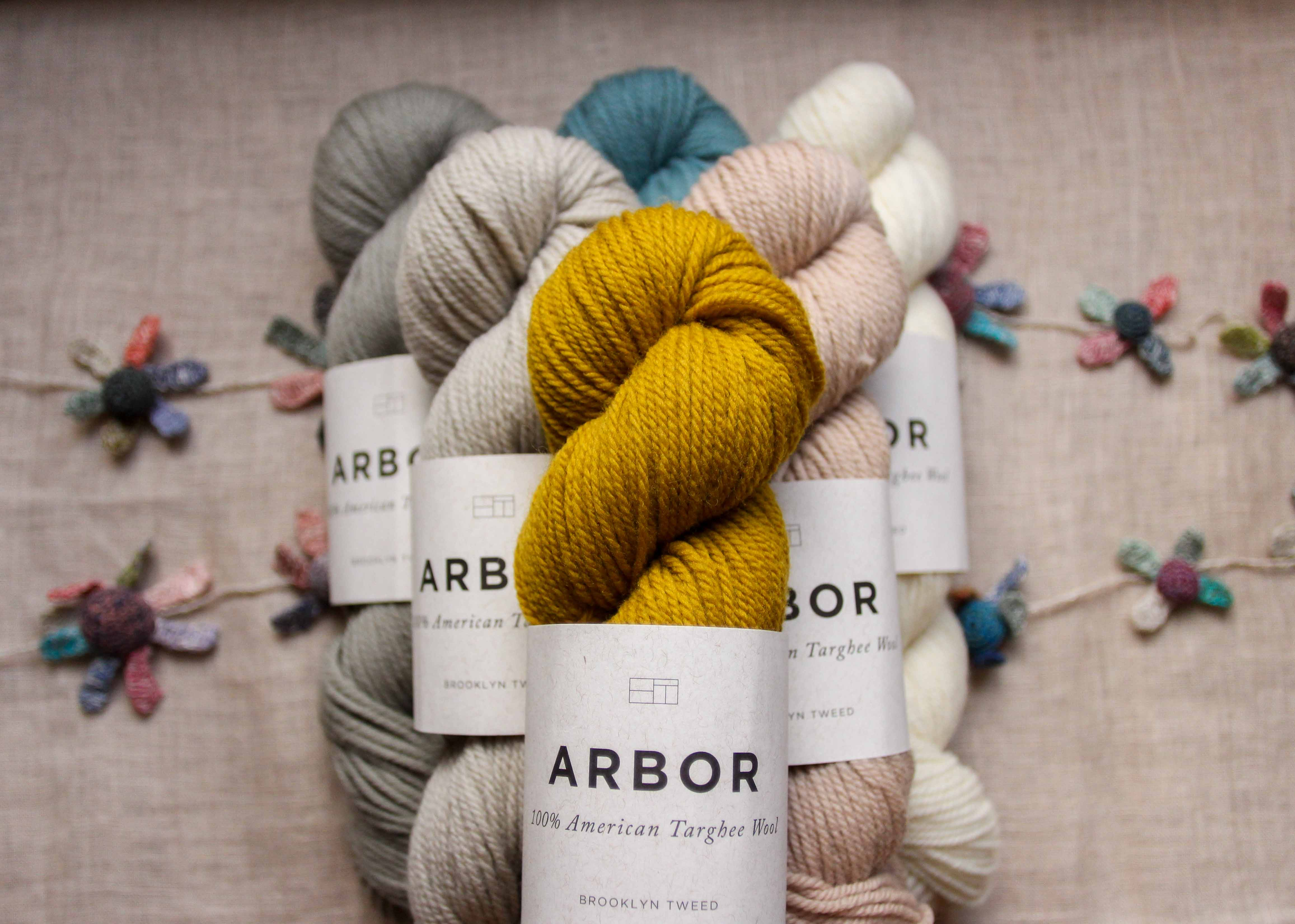 Introducing Arbor by Brooklyn Tweed