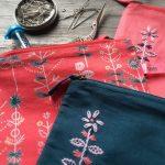 handmade haberdashery pouches at Loop London