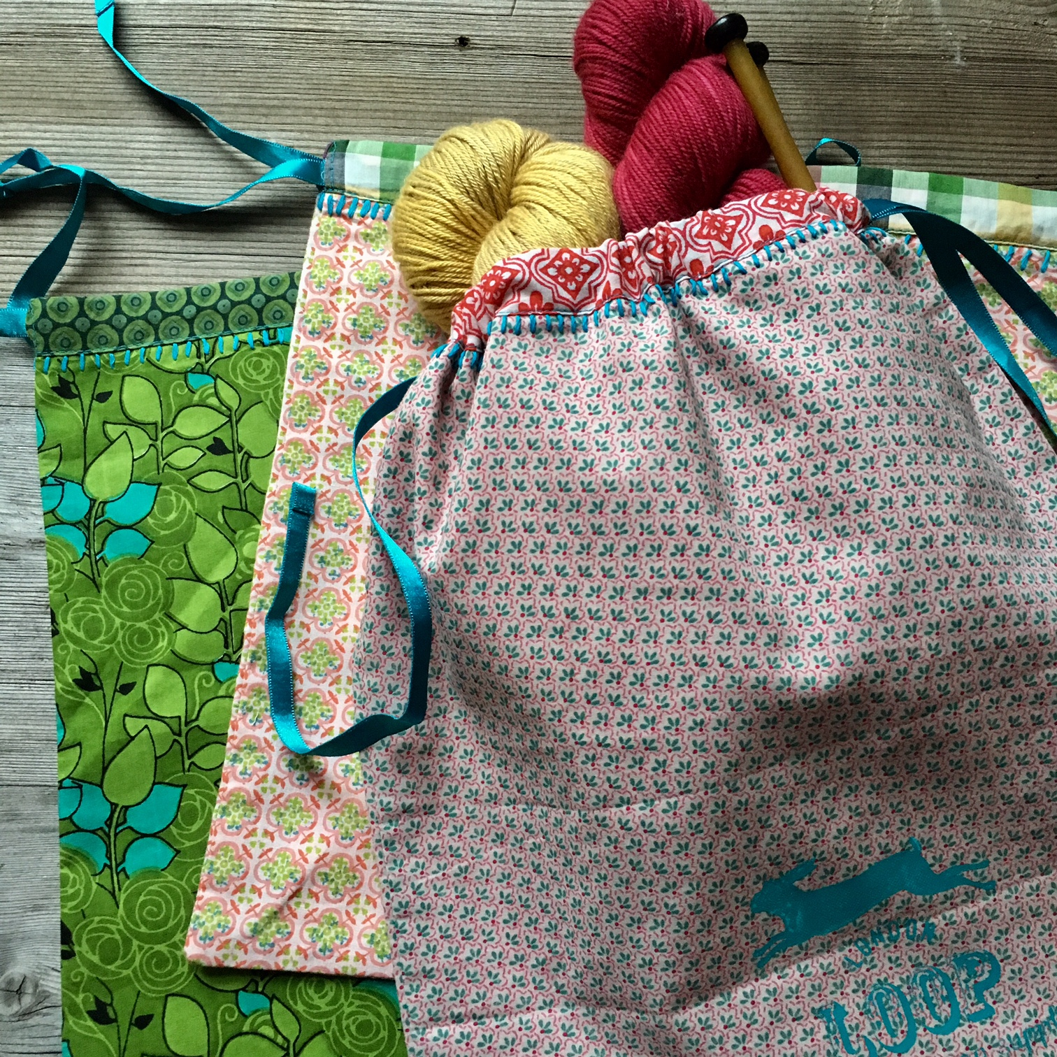 Loop's Handmade Project Bags and a trip to India