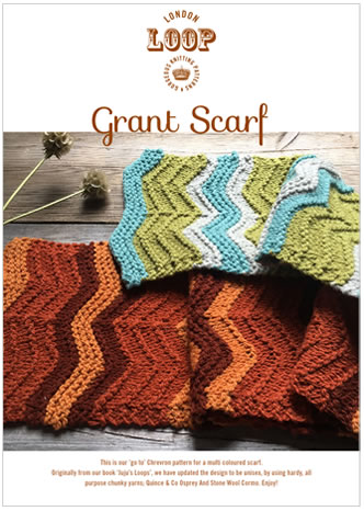 Grant Scarf Pattern from Loop London