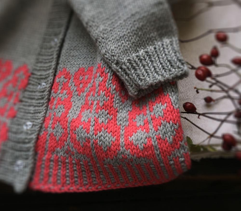 Spruce Cardigan detail at Loop London