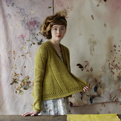 Bristol Ivy's Teazel cardigan pattern photographed by Kristen Peres and styled by Susan Cropper