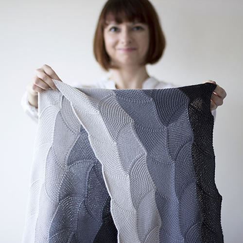 Asanagi Wrap by OlgaJazzy at Loop Knitting London