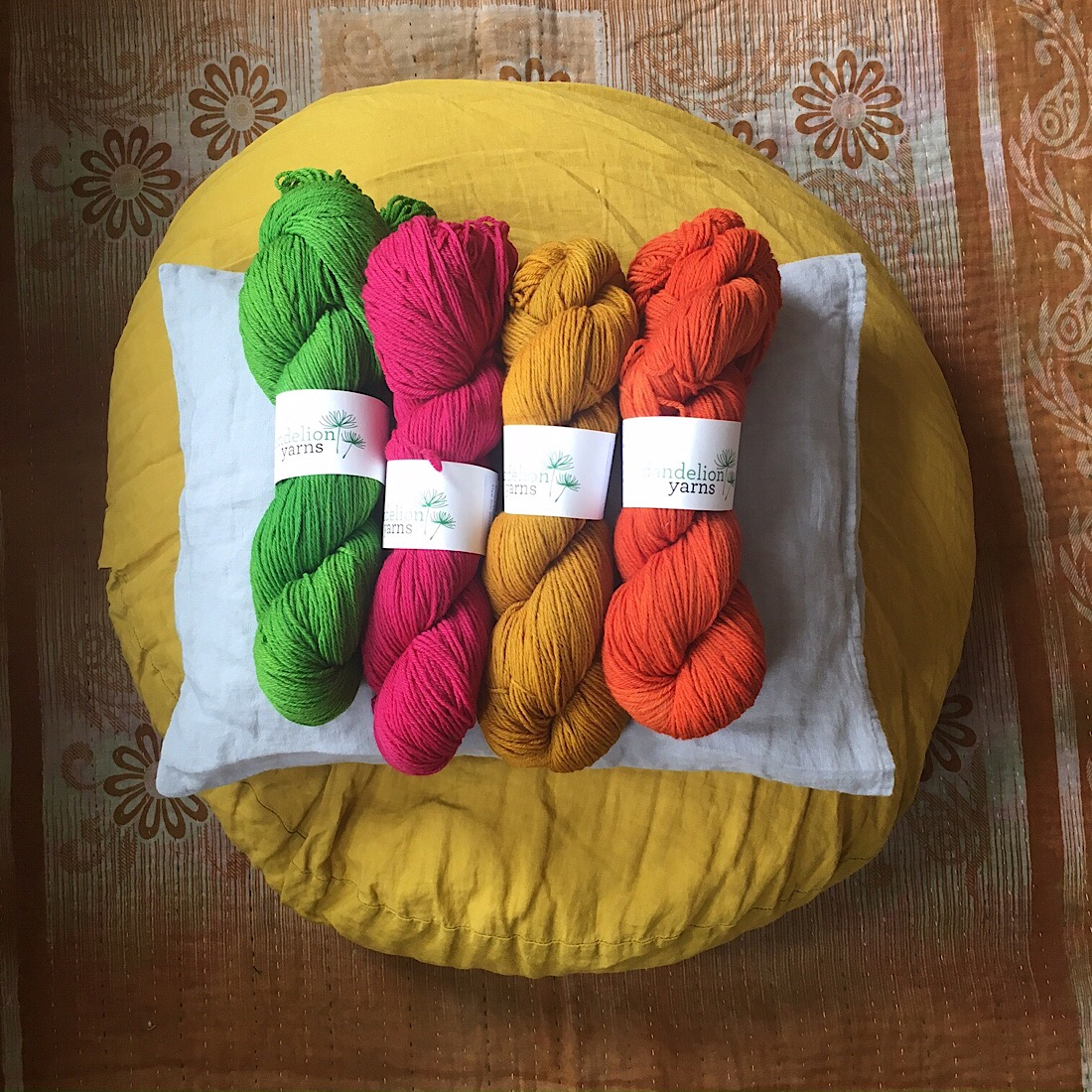 Dandelion yarn at Loop London