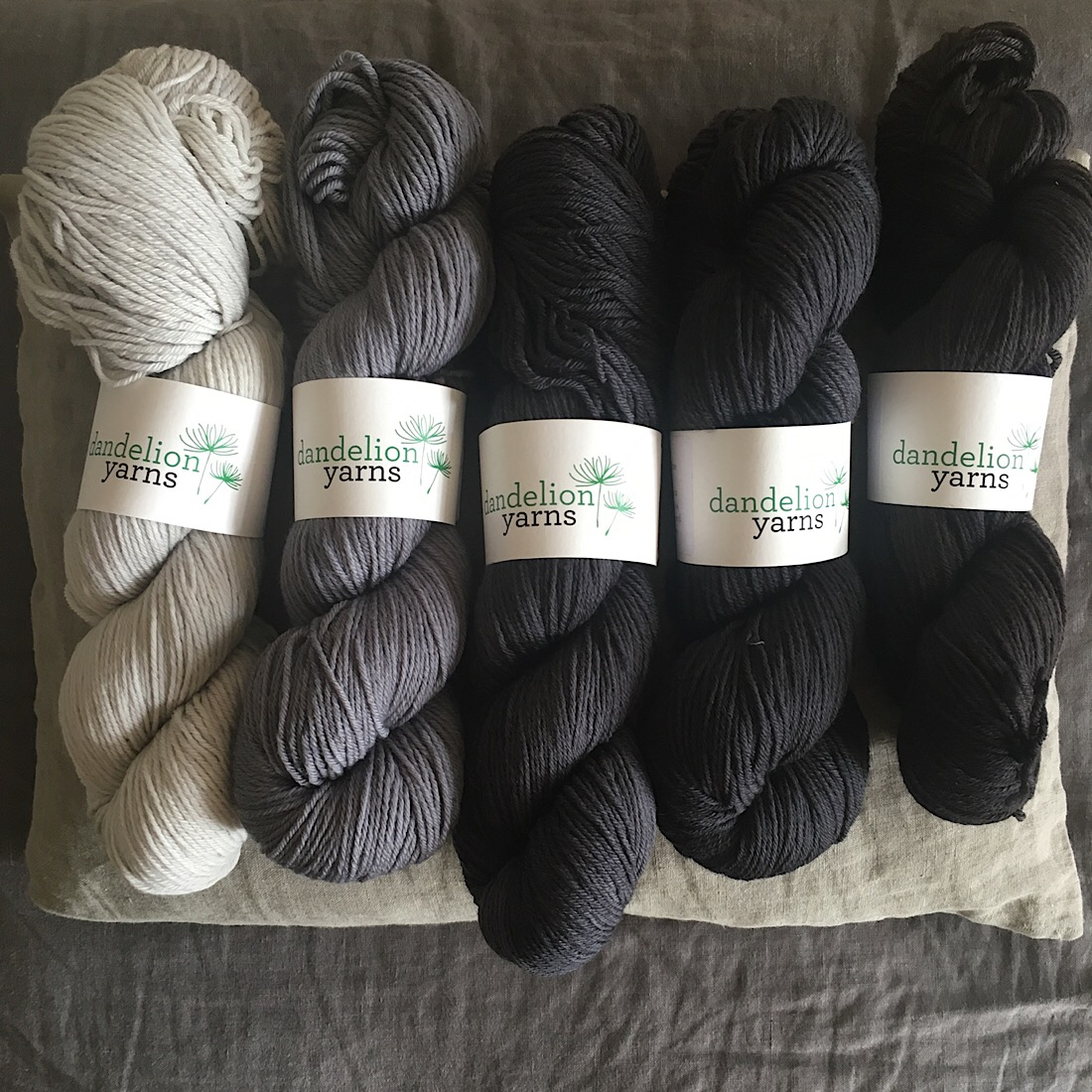 Dandelion Yarns at Loop London