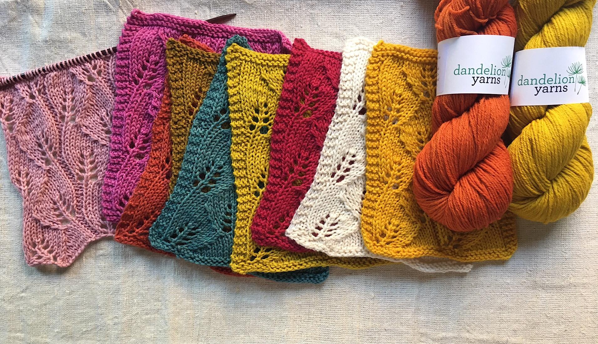 New Yarn Alert: Dandelion Rosy Sport