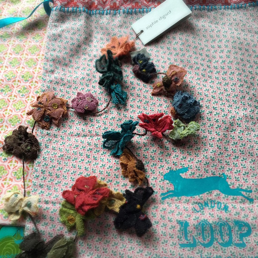 Juliette Necklace and Loop bag at Loop London