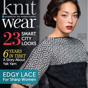 Knitwear magazine at Loop London