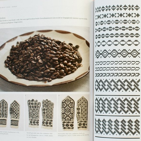 Pages from Selbuvotter book at Loop London
