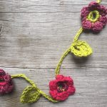 Floral Crochet Necklace from Loop London