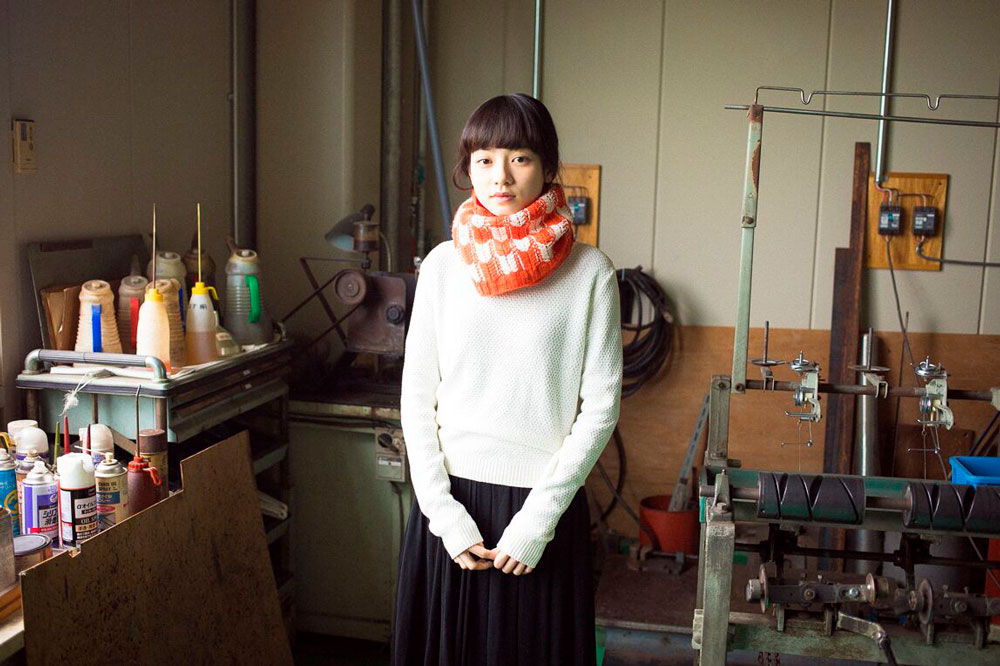 Yabane Cowl in Genmou at Loop London