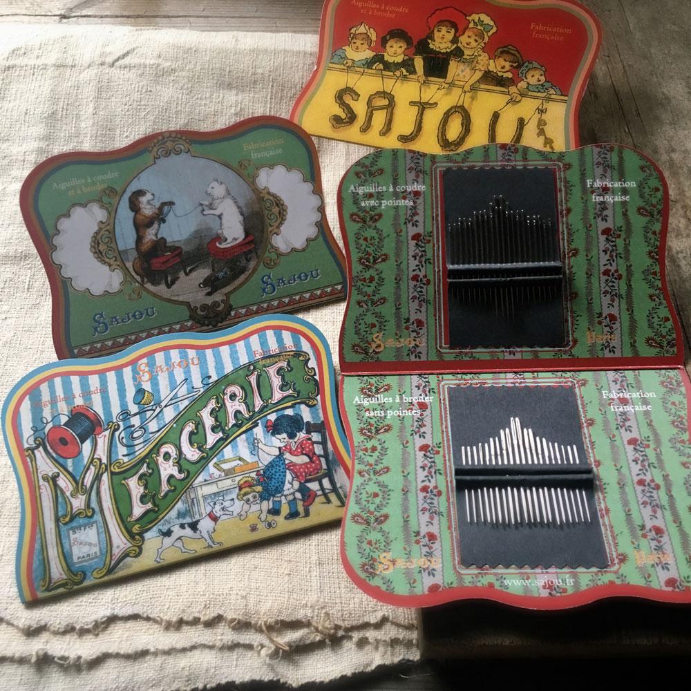 Sajou needles and pins at Loop London