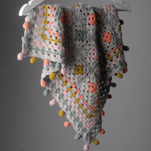Crochet blanket in Swaddle at Loop London