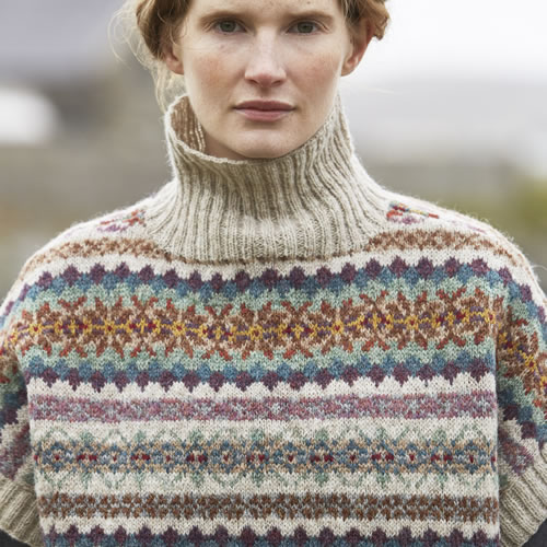 Shetland Mousa Pullover at Loop London