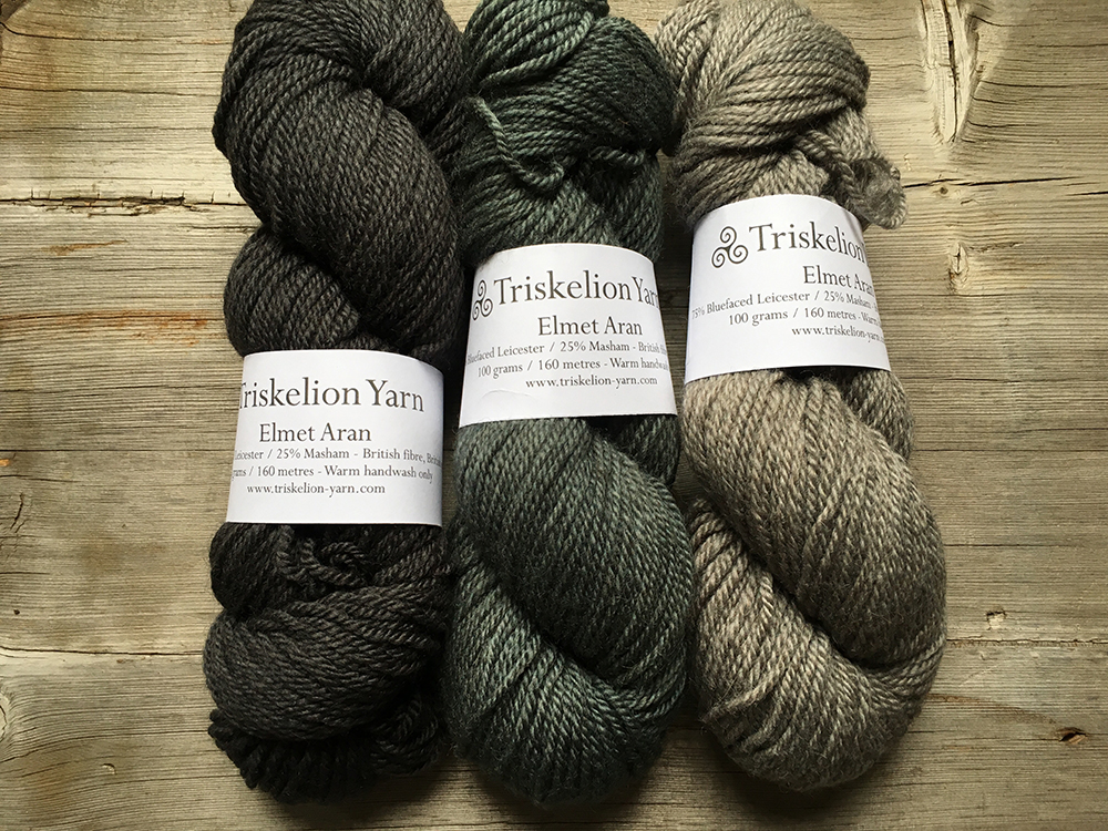 Triskelion Yarn at Loop London