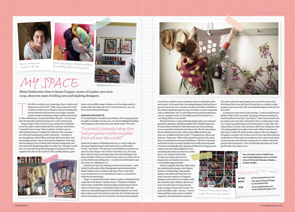 Inside Crochet issue 70