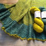 Brown eyed Susan Shawl and Uncommon Thread BFL Singles at Loop London
