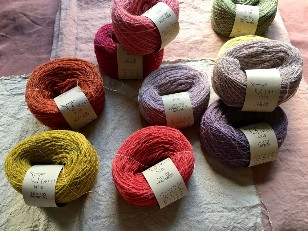 Twirl Ditto Natural Dyes at Loop London