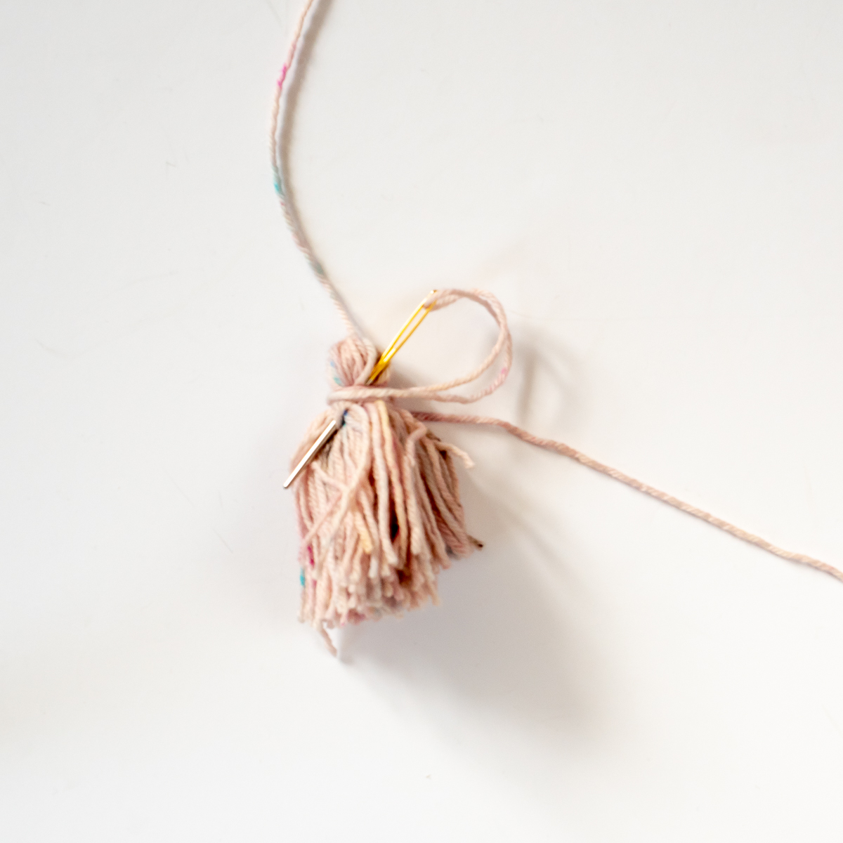How to make a tassel at Loop London
