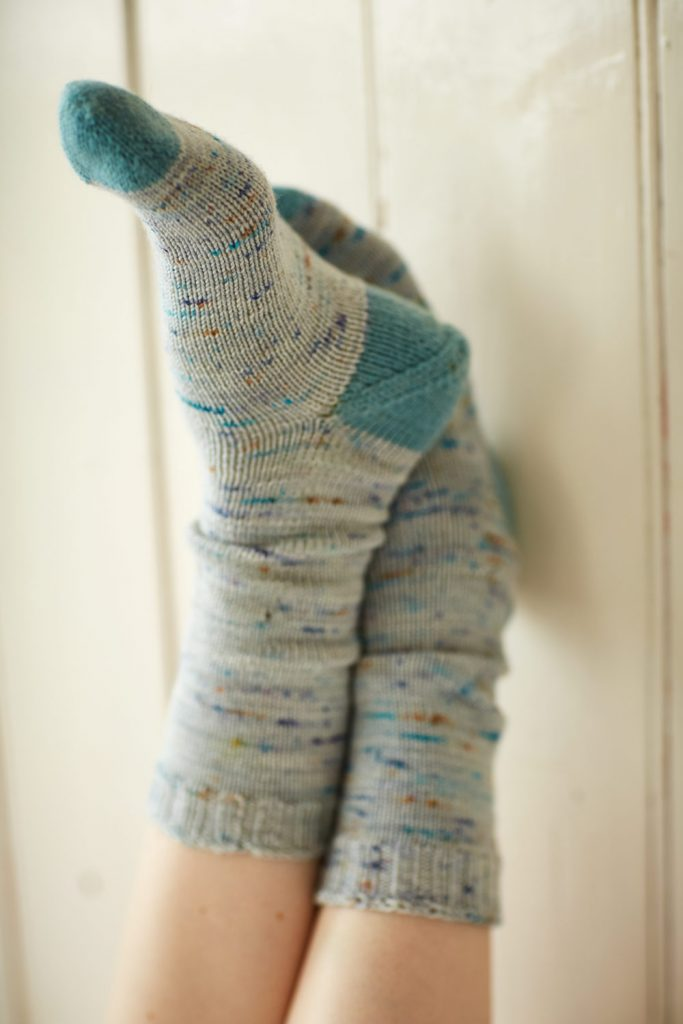 Toe Up Socks at Loop London