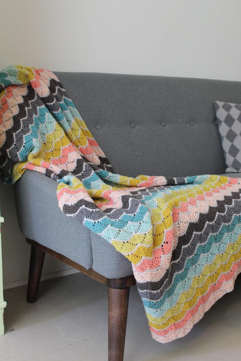 Begynder Taeppet Blanket in Hverdagsuld at Loop London