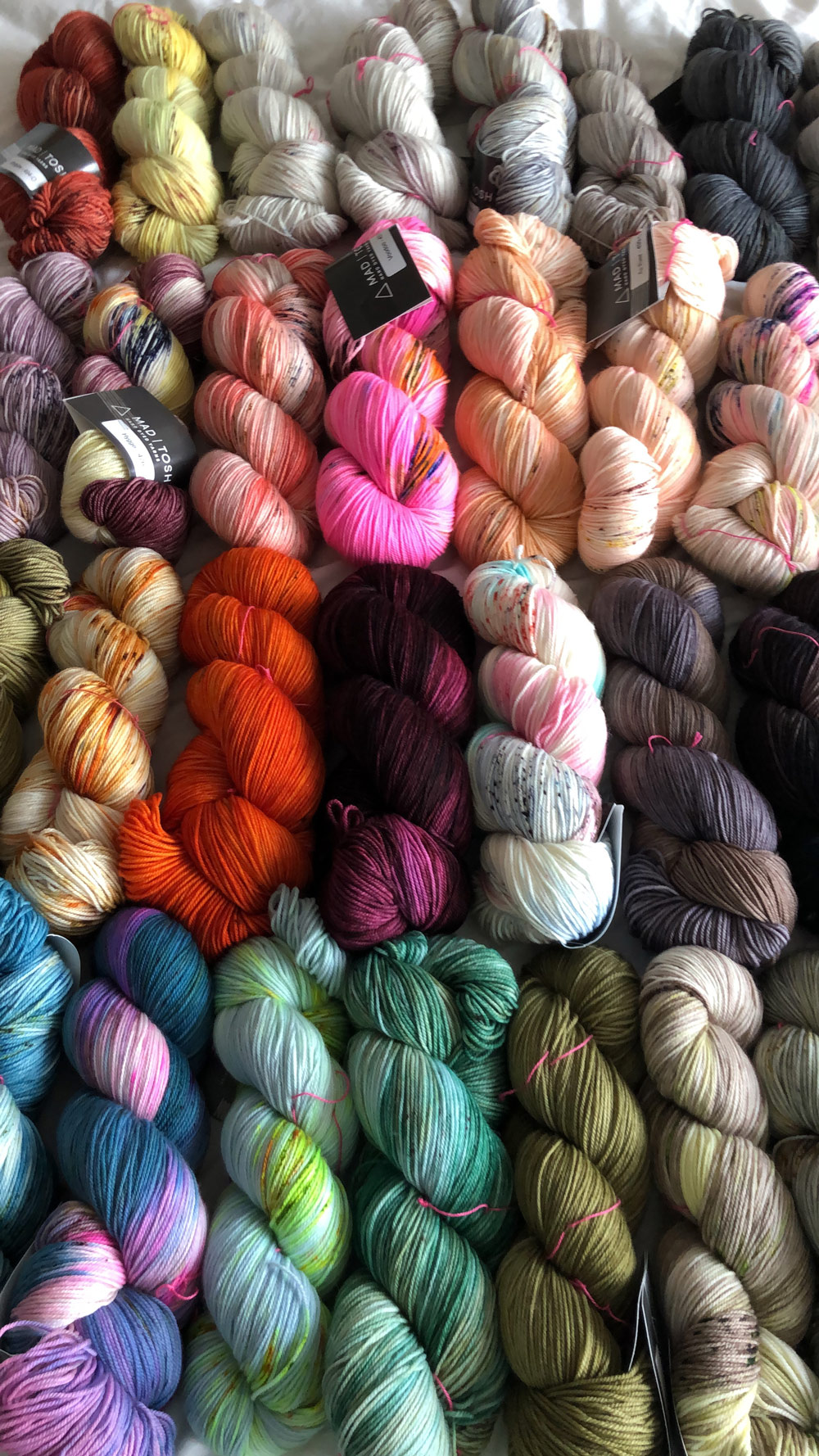New Madelinetosh at Loop London