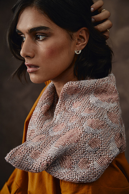 Hypatia in Madelinetosh Pashmina by Carrisa Browning at Loop London