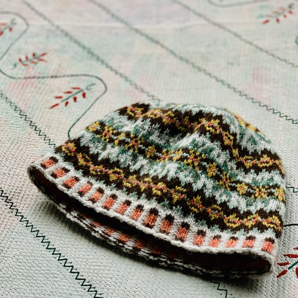 Colour work hat class at Loop London