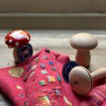 Hikaru Noguchi darning mushrooms at Loop London