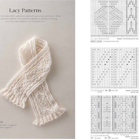 Japanese Knitting Stitch Bible at Loop London
