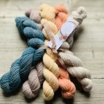 Woolly Mammoth Natural Sock minis at Loop London